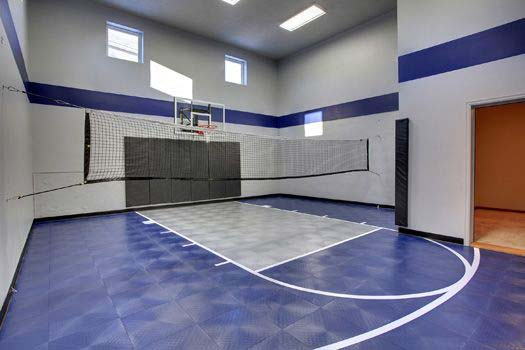 Multi-Use Sport Court | Creek Hill Custom Homes